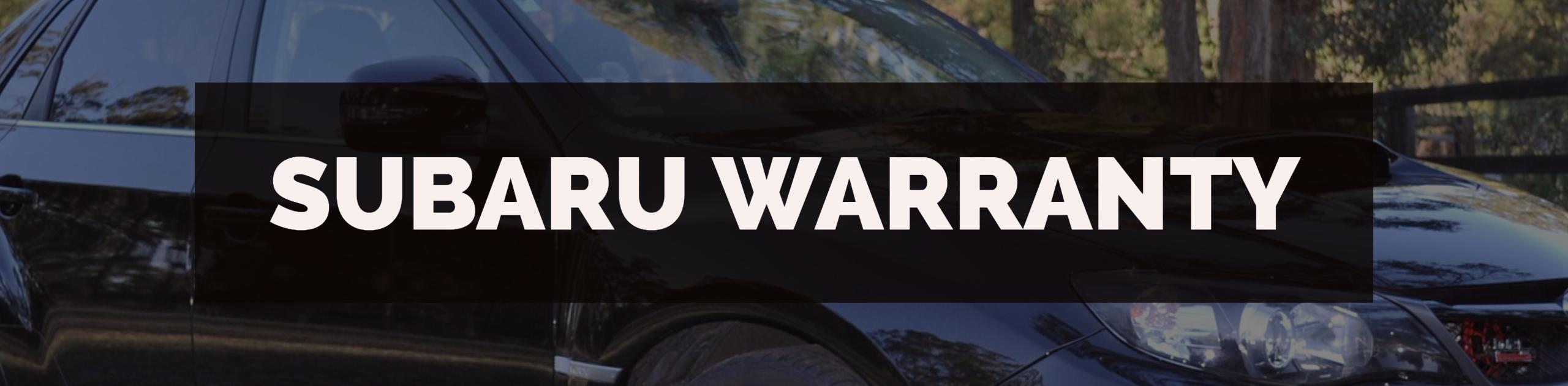 Subaru Warranty Processing, Training, Auditing