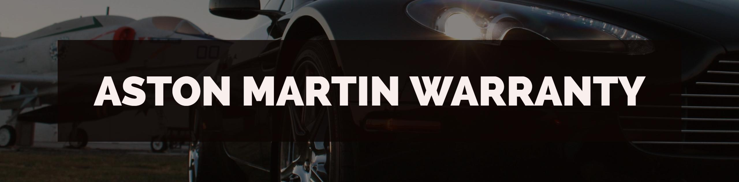 Aston Martin Warranty Processing, Training, Auditing