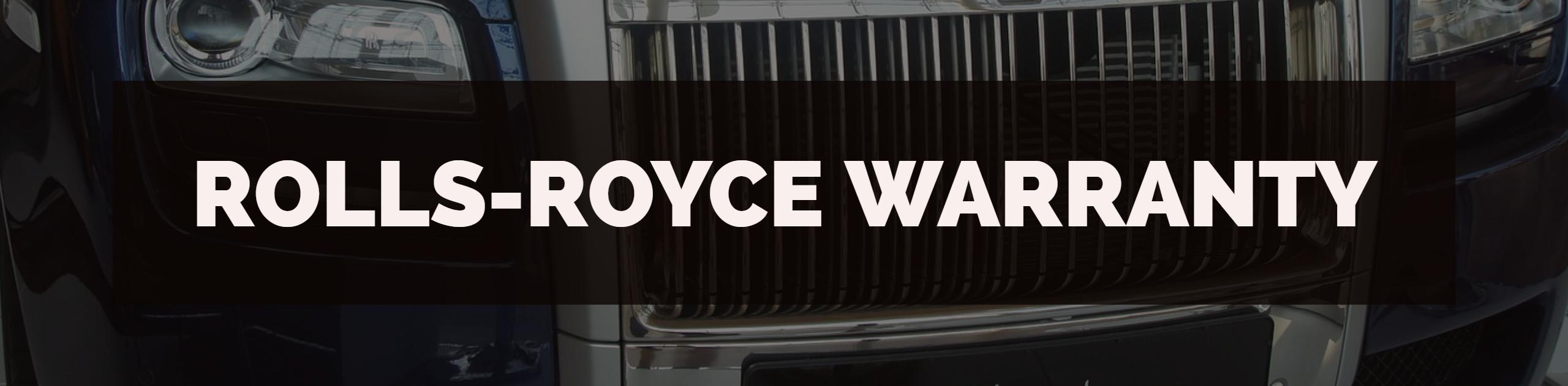 Rolls-Royce Warranty Processing, Training, Auditing